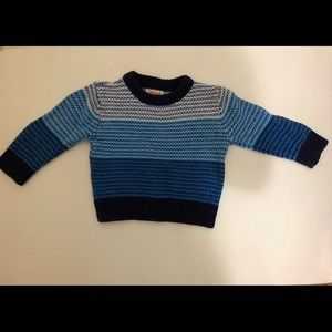 Toddler Blue Sweater
